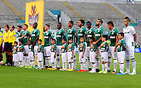 CALI -COLOMBIA, 11-09-2016. Formación del Deportivo Cali.Acción de juego entre Cali y Boyacá Chicó  durante encuentro  por la fecha 11 de la Liga Aguila II 2016 disputado en el estadio del Deportivo Cali en Palmaseca./ Team Of Deportivo Cali.Action game between Cali and Boyaca Chico during match for the date 11 of the Aguila League II 2016 played at Deportivo Cali  stadium in Palmaseca. Photo:VizzorImage / Nelson Rios  / Cont