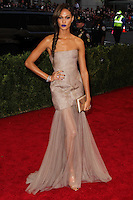 "NEW YORK CITY, NY, USA - MAY 05: Joan Smalls at the ""Charles James: Beyond Fashion"" Costume Institute Gala held at the Metropolitan Museum of Art on May 5, 2014 in New York City, New York, United States. (Photo by Xavier Collin/Celebrity Monitor)"