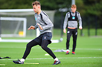 Joe Rodon of Swansea City in action during the Swansea City Training Session at The Fairwood Training Ground, Wales, UK. Tuesday 11th September 2018