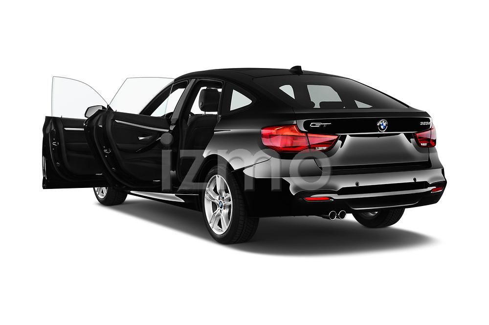 Car images close up view of 2017 BMW 3 Series 330i GT M Sport 5 Door Hatchback doors