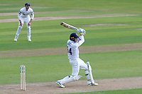 Peter Siddle of Essex hits out during Essex CCC vs Yorkshire CCC, Specsavers County Championship Division 1 Cricket at The Cloudfm County Ground on 4th May 2018
