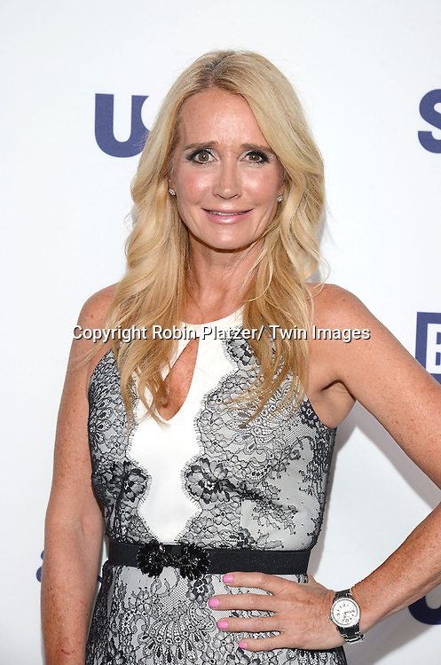 Kim Richards attends the NBCUniversal Cable Entertainment Upfront <br /> on May 15, 2014 at The Javits Center North Hall in New York City, New York, USA.