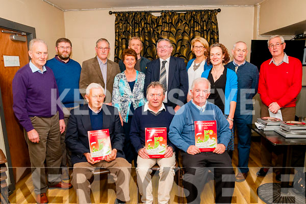 Ballydonoghue Journal Launch : Pictured at the launch of the 31st edition of the Ballydonoghue Journal at Tomasin's Bar, Liselton on Friday night last were in front Mick Browne, Robert Bunyan who launched the journal & Jim Finnerty. Back : Con Nolan, Conor Foley, Jer Moran, Marian O'Connor, Sean Linnane, John F. Keane, Margaret Kissane, Elaine Nolan, David Kissane, Editor & Teddy Murphy.