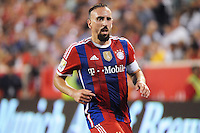 HARRISON, NJ - Thursday July 31, 2014: German power-house Bayern Munich beat Mexican Squad Club Deportivo Guadalajara 1-0 in a friendly at Red Bull Arena as part of the Audi Football Summit.