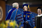 May 20, 2017; 2017 Graduate School Commencement ceremony. (Photo by Matt Cashore/University of Notre Dame)