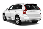 Car pictures of rear three quarter view of a 2018 Volvo XC90 Inscription 5 Door SUV angular rear