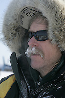 Jeff King after arriving Thursday at the halfway checkpoint of Cripple.
