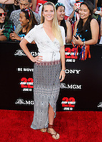 WESTWOOD, LOS ANGELES, CA, USA - JUNE 10: Heather Morris at the World Premiere Of Columbia Pictures' '22 Jump Street' held at the Regency Village Theatre on June 10, 2014 in Westwood, Los Angeles, California, United States. (Photo by Xavier Collin/Celebrity Monitor)