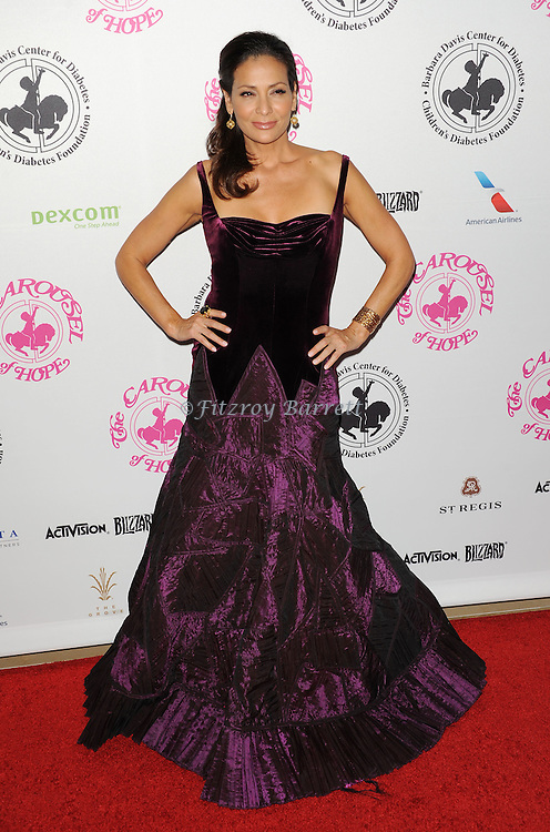 Constance Marie arriving at The 2016 Carousel Of Hope Ball held at the Beverly Hilton Hotel Beverly Hills California October 8, 2016.