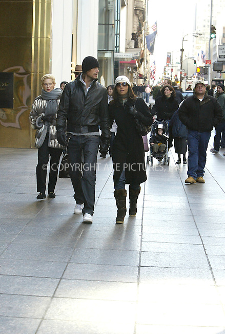 WWW.ACEPIXS.COM . . . . .  ....February 7 2006, New York City....**EXCLUSIVE** FEE MUST BE AGREED BEFORE USE....Actress Halle Berry takes time off from her schedule shooting 'Perfect Stranger' with Bruce Willis in New York to stroll up a sunny Fifth Avenue hand in hand with her new boyfriend Gabriel Aubrey.....Please byline: JENNIFER L GONZELES-ACEPIXS.COM....**EXCLUSIVE** FEE MSUT BE AGREED BEFORE USE....Ace Pictures, Inc:  ..Philip Vaughan (212) 243-8787 or (646) 769 0430..e-mail: info@acepixs.com..web: http://www.acepixs.com