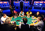 A view of the final table  on the ESPN stage