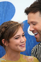 Matilda Lutz &amp; Taylor Frey poses during a photocall of the movie 'L'Estate Addosso' presented out of competition at the 73rd Venice Film Festival on August 31, 2016 at Venice Lido.<br /> CAP/GOL<br /> &copy;GOL/Capital Pictures /MediaPunch ***NORTH AND SOUTH AMERICAS ONLY***