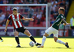 Paul Coutts of Sheffield Utd in action during the English Championship League match at Bramall Lane Stadium, Sheffield. Picture date: August 5th 2017. Pic credit should read: Simon Bellis/Sportimage