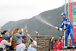 Enric Mas Nicolau (ESP) Quick-Step Floors wins Stage 20 of the La Vuelta 2018, running 97.3km from Andorra Escaldes-Engordany to Coll de la Gallina, Spain. 15th September 2018.                   <br /> Picture: Unipublic/Photogomezsport | Cyclefile<br /> <br /> <br /> All photos usage must carry mandatory copyright credit (&copy; Cyclefile | Unipublic/Photogomezsport)