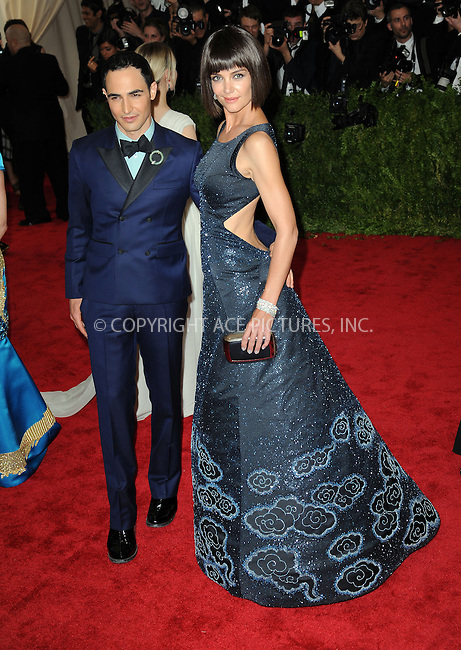 WWW.ACEPIXS.COM<br /> <br /> May 4, 2015, New York City<br /> <br /> Zac Posen and Katie Holmes attending the Costume Institute Benefit Gala celebrating the opening of China: Through the Looking Glass at The Metropolitan Museum of Art on May 4, 2015 in New York City.<br /> <br /> By Line: Kristin Callahan/ACE Pictures<br /> <br /> <br /> ACE Pictures, Inc.<br /> tel: 646 769 0430<br /> Email: info@acepixs.com<br /> www.acepixs.com