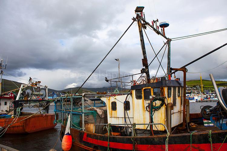 Fishing boat in Dingle, Kerry, Ireland