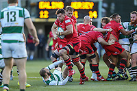 Janco VENTER of Jersey Reds during the Greene King IPA Championship match between Ealing Trailfinders and Jersey Reds at Castle Bar , West Ealing , England  on 22 December 2018. Photo by David Horn.