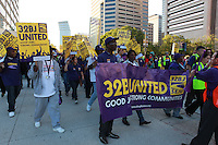 Reinhard:SEIU 32 BJ Baltimore Rally