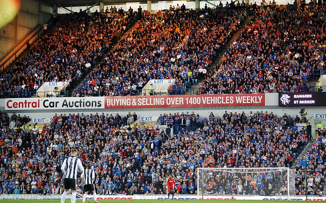 Wes Foderingham, Rangers v St Mirren