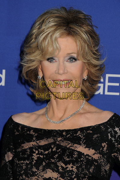 27 February 2014 - Culver City, California - Jane Fonda. Unite4:good and Variety Magazine Present &quot;Unite4:humanity&quot; held at Sony Pictures Studios. <br /> CAP/ADM/BP<br /> &copy;Byron Purvis/AdMedia/Capital Pictures