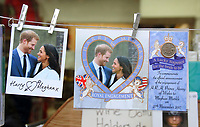 Royal Wedding souvenirs on sale in Windsor, UK on Saturday February 3rd 2018<br /> CAP/ROS<br /> <br /> CAP/ROS<br /> &copy;ROS/Capital Pictures