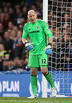 Middlesbrough's Brad Guzan looks on dejected during the Premier League match at Stamford Bridge Stadium, London. Picture date: May 8th, 2017. Pic credit should read: David Klein/Sportimage