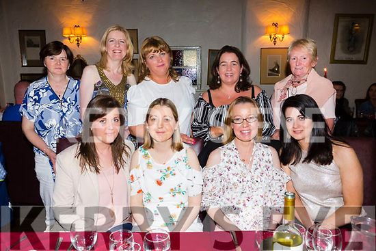 Joann Moriarty, Kevin Barry's Tralee, celebrating a birthday with friends at Cassidy's on Friday Front Michelle Crean, Eileen O'Shea, Joann Moriarty, Geraldine Crean Back l-r Hannah Brosnan, Caitriona Hobbert, Sarah Reidy, Tanya Allen and Anne Pullen