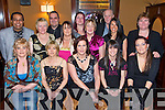 Staff of St Bridgets Community Centre  enjoying their Christmas  party at the Deacon, Tralee on Saturday Night..Front from Left: Catherine Howard, Elizabeth Locke, Brenda Zitchfield, Evelyn O'Sullivan, Breda O'Shea..Back Row: Seif Taher, Joan Pembroke, Peter Hawkins, Melissa Barrett, Rachel O'Connor, Annette O'Sullivan, Tony Guerin, Jackie Moriarty, Linda Moriarty.   Copyright Kerry's Eye 2008