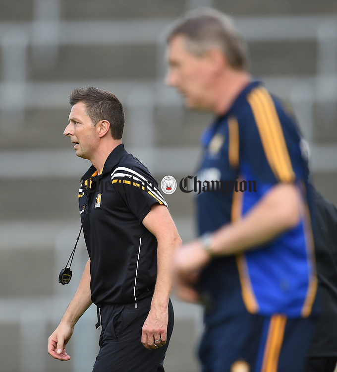 Sean Mangan, Kilkenny trainer and formerly St Joseph's GA club member,  following their Intermediate All-Ireland final against Clare at Thurles. Photograph by John Kelly.