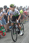 Louis Meintjes (RSA) Team Dimension Data on the final climb of Stage 17 of the La Vuelta 2018, running 157km from Getxo to Balcón de Bizkaia, Spain. 12th September 2018.                   <br /> Picture: Colin Flockton | Cyclefile<br /> <br /> <br /> All photos usage must carry mandatory copyright credit (© Cyclefile | Colin Flockton)