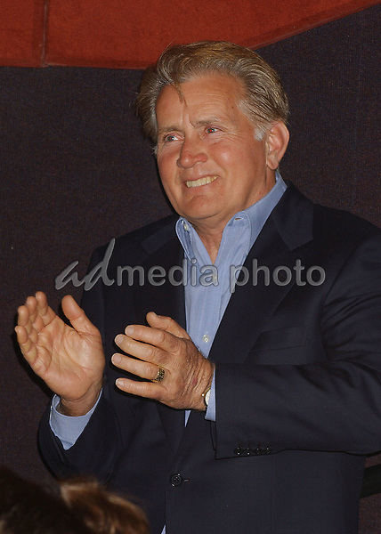 08 February 2005 - Los Angeles, California - Martin Sheen. James Dean 50th Anniversary Year Global Media Event held at Pacific Theatre launching a year-long commemorative tribute to James Dean. Warner Home Video will debut a documentary 'James Dean: Forever Young'  at Cannes 2005. Photo Credit: Laura Farr/AdMedia