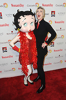 www.acepixs.com<br /> February 7, 2017  New York City<br /> <br /> Jane Lynch and Betty Boop attending the 14th annual Woman's Day Red Dress Awards at Jazz at Lincoln Center on February 7, 2017 in New York City.<br /> <br /> Credit: Kristin Callahan/ACE Pictures<br /> <br /> <br /> Tel: 646 769 0430<br /> Email: info@acepixs.com
