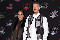 American singer Christina Milian (L) and French singer M Pokora pose on the red carpet as she arrives to attend the 21st NRJ Music Awards ceremony at the Palais des Festivals in Cannes, southeastern France, on November 9, 2019<br /> La chanteuse americaine Christina Milian (G) et le chanteur français M Pokora posent sur le tapis rouge lors de son arrivee a la 21e ceremonie des NRJ Music Awards au Palais des Festivals a Cannes, dans le sud-est de la France - le 9 novembre 2019.<br /> Eric Dervaux_ DALLE