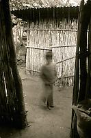 Niño fantasma, Lago de Atitlán, Guatemala, June, 1996.