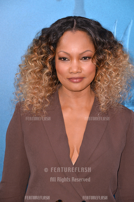 """LOS ANGELES, CA - August 06, 2018: Garcelle Beauvais at the US premiere of """"The Meg"""" at the TCL Chinese Theatre"""