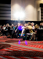 A crowd listens to Vice President Al Gore speak during the Climate Reality Project Leadership Corps Training at the Convention Center in Denver, Colorado, Thursday, March 2, 2017.<br /> <br /> Photo by Matt Nager