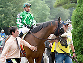 Bert and Diana's fabled green and white silks, absent from the winner's circle for a while, reappear with Winchester, who won the Grade 1 Manhattan over Gio Ponti.