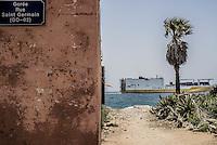 L'ancienne Gorée, l'île aux esclaves.