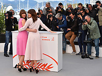 """CANNES, FRANCE. May 15, 2019: Elizabeth Bosse & Monia Chokri  at the photocall for """"A Brother's Love"""" at the 72nd Festival de Cannes.<br /> Picture: Paul Smith / Featureflash"""