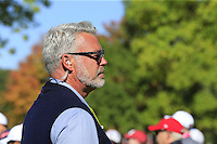 Darren Clarke (Captain Team Europe) during Sunday Singles matches at the Ryder Cup, Hazeltine National Golf Club, Chaska, Minnesota, USA.  02/10/2016<br /> Picture: Golffile | Fran Caffrey<br /> <br /> <br /> All photo usage must carry mandatory copyright credit (&copy; Golffile | Fran Caffrey)