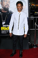 "HOLLYWOOD, CA - JANUARY 13: Jacob Latimore at the Los Angeles Premiere Of Universal Pictures' ""Ride Along"" held at the TCL Chinese Theatre on January 13, 2014 in Hollywood, California. (Photo by David Acosta/Celebrity Monitor)"