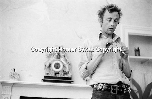 Patrick Procktor, Manchester Street flat London 1968