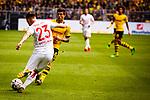 11.05.2019, Signal Iduna Park, Dortmund, GER, 1.FBL, Borussia Dortmund vs Fortuna Düsseldorf, DFL REGULATIONS PROHIBIT ANY USE OF PHOTOGRAPHS AS IMAGE SEQUENCES AND/OR QUASI-VIDEO<br /> <br /> im Bild | picture shows:<br /> Christian Pulisic (Borussia Dortmund #22) im Duell mit Niko Giesselmann (Fortuna #23), <br /> <br /> Foto © nordphoto / Rauch