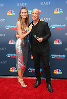PASADENA, CA - MARCH 12: Heidi Klum, Howie Mandel, at America&rsquo;s Got Talent  Kickoff at The Pasadena Civic Auditorium in Pasadena, California on March 12, 2018. <br /> CAP/MPI10<br /> &copy;MPI10/Capital Pictures