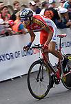 LONDON - UNITED KINDOM -- 07 JULY 2007 -- Tour de France in London. -- David ARROYO (ESP) CAISSE D'EPARGNE (GCE) -- PHOTO: JUHA ROININEN / EUP-IMAGES