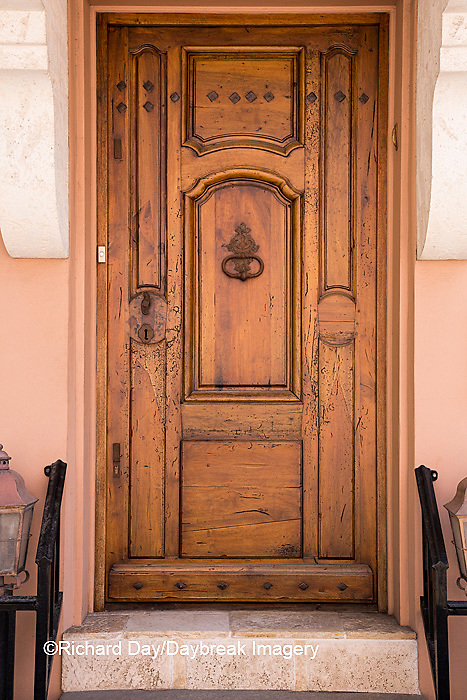 63412-01113 Brown door in St Augustine, FL