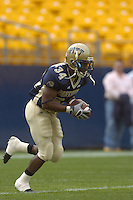 23 September 2006:  LaRod Stephens-Howling (34)..The Pittsburgh Panthers defeated the Citadel Bulldogs 51-6 September 23, 2006 at Heinz Field in Pittsburgh, PA..