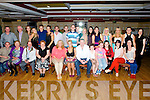 21st: On Saturday night in The River Island Hotel, The family and friends of Charlene Cronin, Castleisland.(Charlene is seated 6th from left)..