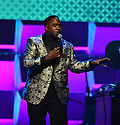 MIAMI, FL - JANUARY 30: Comedian warm up the audience before a Live taping of the 21st Annual Super Bowl Gospel Celebration at the James L. Knight Center on January 30, 2020 in Miami, Florida.  ( Photo by Johnny Louis / jlnphotography.com )