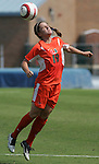 24 September 2006: Miami's Jessica Wyble. The University of North Carolina Tarheels defeated the University of Miami Hurricanes 6-1 at Fetzer Field in Chapel Hill, North Carolina in an NCAA Division I women's soccer game.